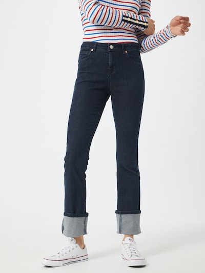 UNITED COLORS OF BENETTON Jeans in blue denim / dunkelblau, Modelansicht