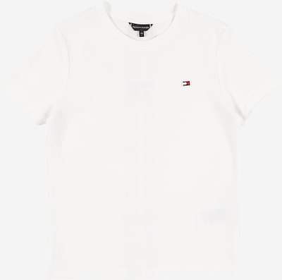 Tricou TOMMY HILFIGER pe alb: Privire frontală