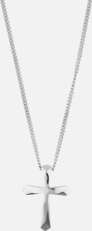 ESPRIT Halskette Belief ESNL92643A420 mit Kreuz-Anhänger