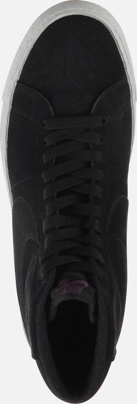 Schwarz Sneaker Decon' Blazer Nike Sb 'zoom Mid 6pqTwn8Zzx
