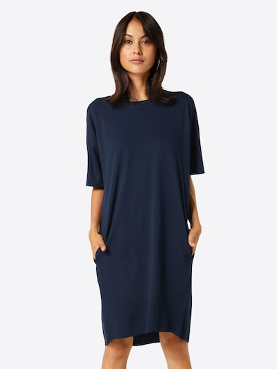 minimum Kleid in navy, Modelansicht