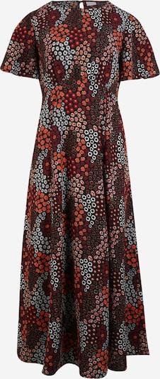 Pieces Maternity Robe 'Blinna' en mélange de couleurs / orange, Vue avec produit