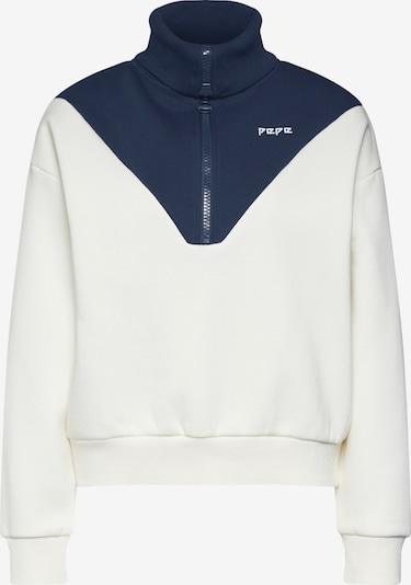 Bluză de molton 'NARCISSA' Pepe Jeans pe albastru / alb, Vizualizare produs