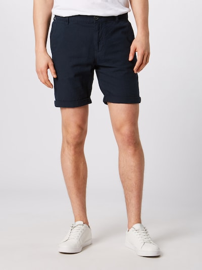 SELECTED HOMME Shorts in dunkelblau, Modelansicht