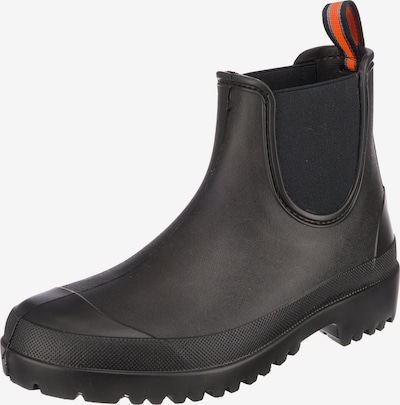 BECK Gummistiefel 'Worker' in orange / schwarz, Produktansicht