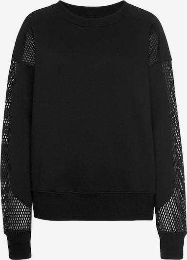 LASCANA Sweatshirt »Technical Red« in schwarz, Produktansicht
