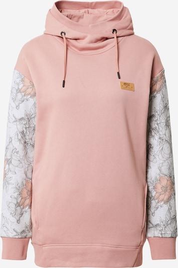 Picture Organic Clothing Sportska sweater majica u svijetlosiva / siva melange / prljavo roza, Pregled proizvoda