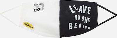 recolution Stoffmaske 'LEAVENOONEBEHIND' in schwarz / weiß, Produktansicht