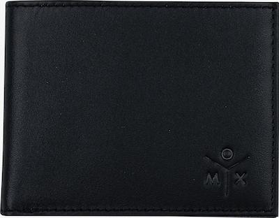 OXMOX Geldbörse  10,5 cm in schwarz, Produktansicht