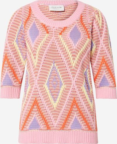 Megztinis 'Selma' iš Cecilie Copenhagen , spalva - purpurinė / mišrios spalvos / rožių spalva, Prekių apžvalga
