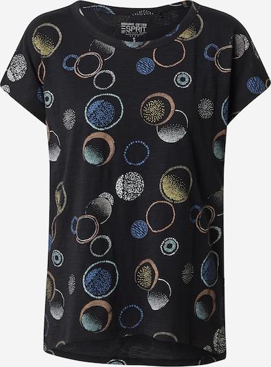 ESPRIT Koszulka w kolorze mieszane kolory / czarnym: Widok z przodu