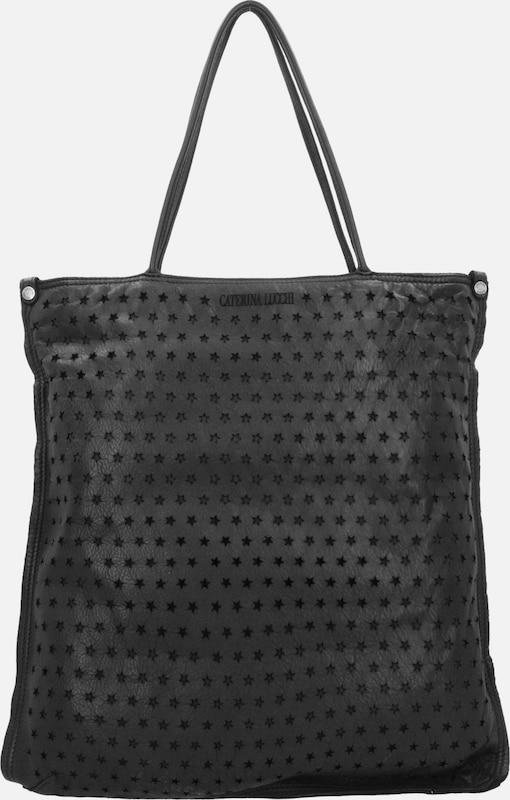 Caterina Lucchi Shopper Tasche Leder 40 cm