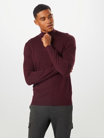 BURTON MENSWEAR LONDON Sweter w kolorze burgundm: Widok z przodu