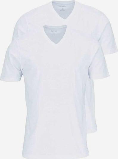 OLYMP T-Shirts in weiß, Produktansicht