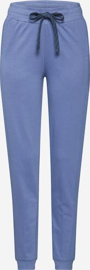 ThokkThokk Pantalon de pyjama en bleu, Vue avec produit