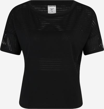 REEBOK Functioneel shirt in de kleur Zwart, Productweergave