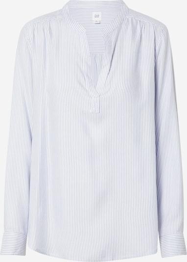 GAP Bluse 'DRAPEY' in blau / weiß: Frontalansicht