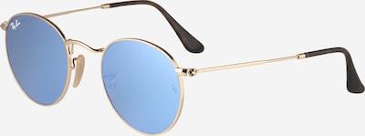 Ray-Ban Sonnenbrille 'Round' in hellblau / gold, Produktansicht
