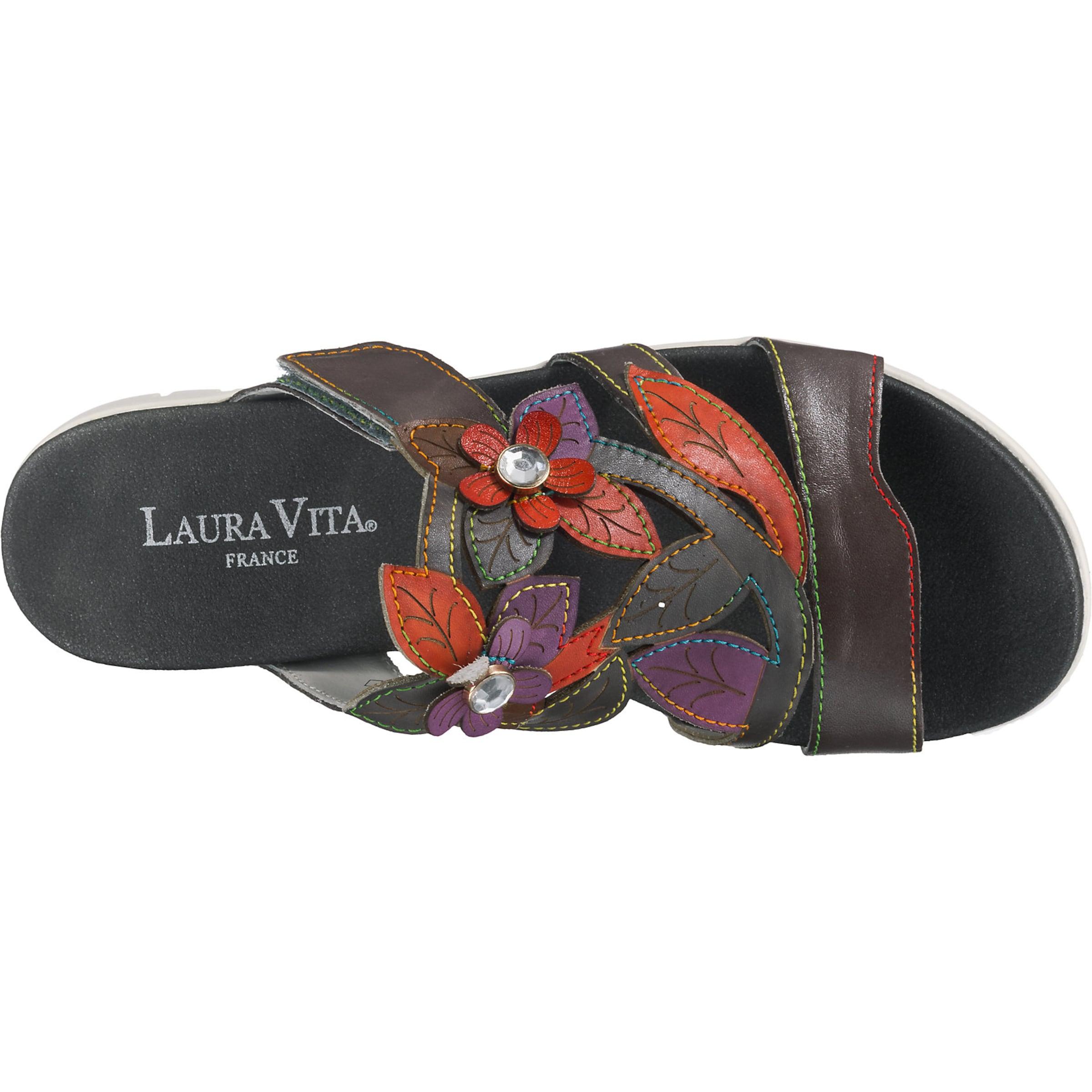 Vita Pantoletten Laura In Laura Grau Vita 7gYb6yf