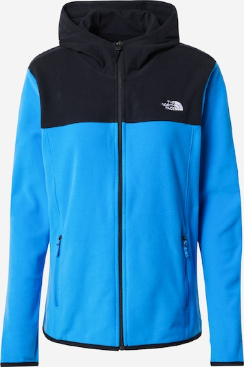 THE NORTH FACE Sportsweatjacken in himmelblau / schwarz, Produktansicht
