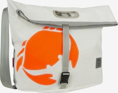 360 Grad Umhängetasche in orange / weiß, Produktansicht