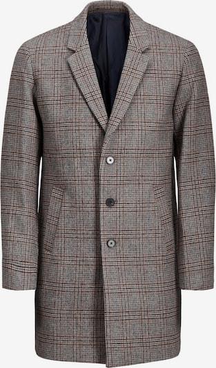 JACK & JONES Přechodný kabát - hnědý melír / čedičová šedá / šedý melír, Produkt