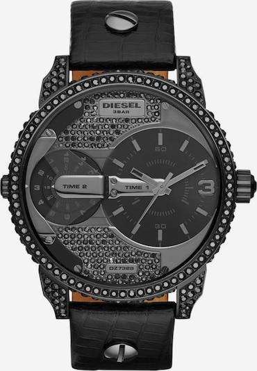 DIESEL Quarzuhr 'MINI DADDY' in schwarz, Produktansicht