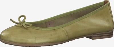MARCO TOZZI Balerinke | zelena barva, Prikaz izdelka