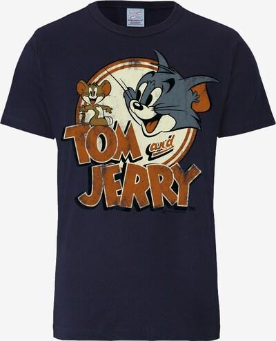 """LOGOSHIRT T-Shirt """"Tom und Jerry"""" in marine / rostbraun / dunkelgrau, Produktansicht"""