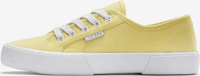 LASCANA LASCANA Sneaker in gelb, Produktansicht