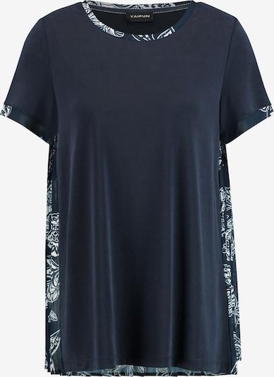 TAIFUN T-Shirt in blau / mint / weiß, Produktansicht