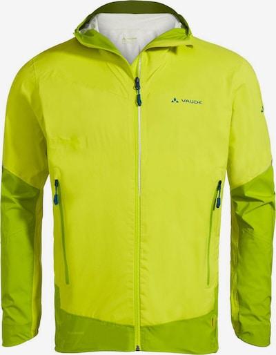 VAUDE Jacke 'Larice 2,5L Jacket II' in himmelblau / apfel / neongrün, Produktansicht