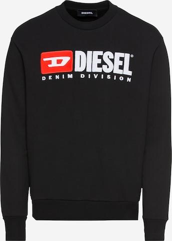 DIESEL Sweatshirt in Schwarz