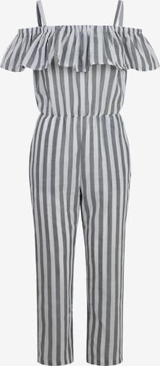 APART Jumpsuit in grau / weiß, Produktansicht