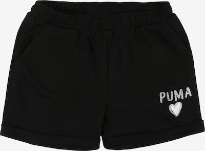 PUMA Broek in de kleur Zwart / Wit, Productweergave