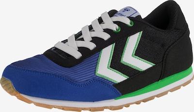 Hummel Sneakers 'Reflex' in blau / neongrün / schwarz / weiß, Produktansicht