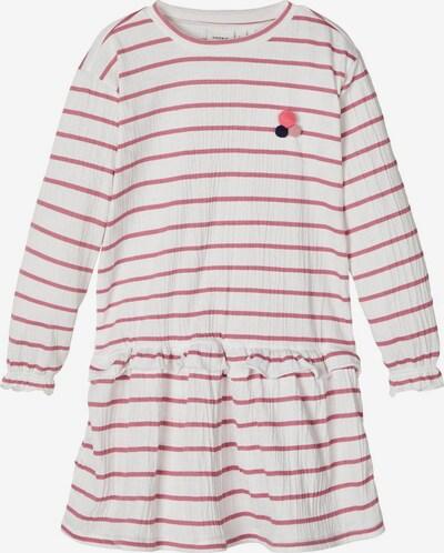 NAME IT Kleid in pastellrot / weiß, Produktansicht