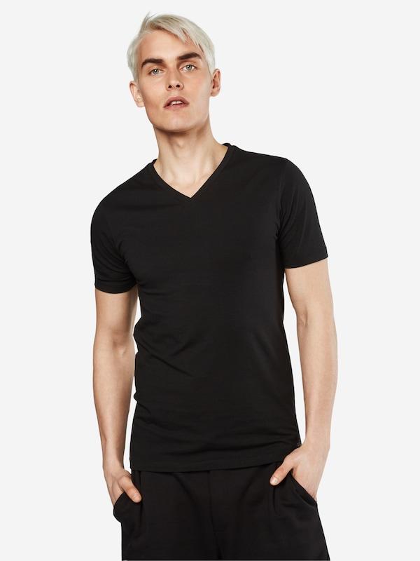 HUGO T-Shirt 'Dandre' mit V-Ausschnitt