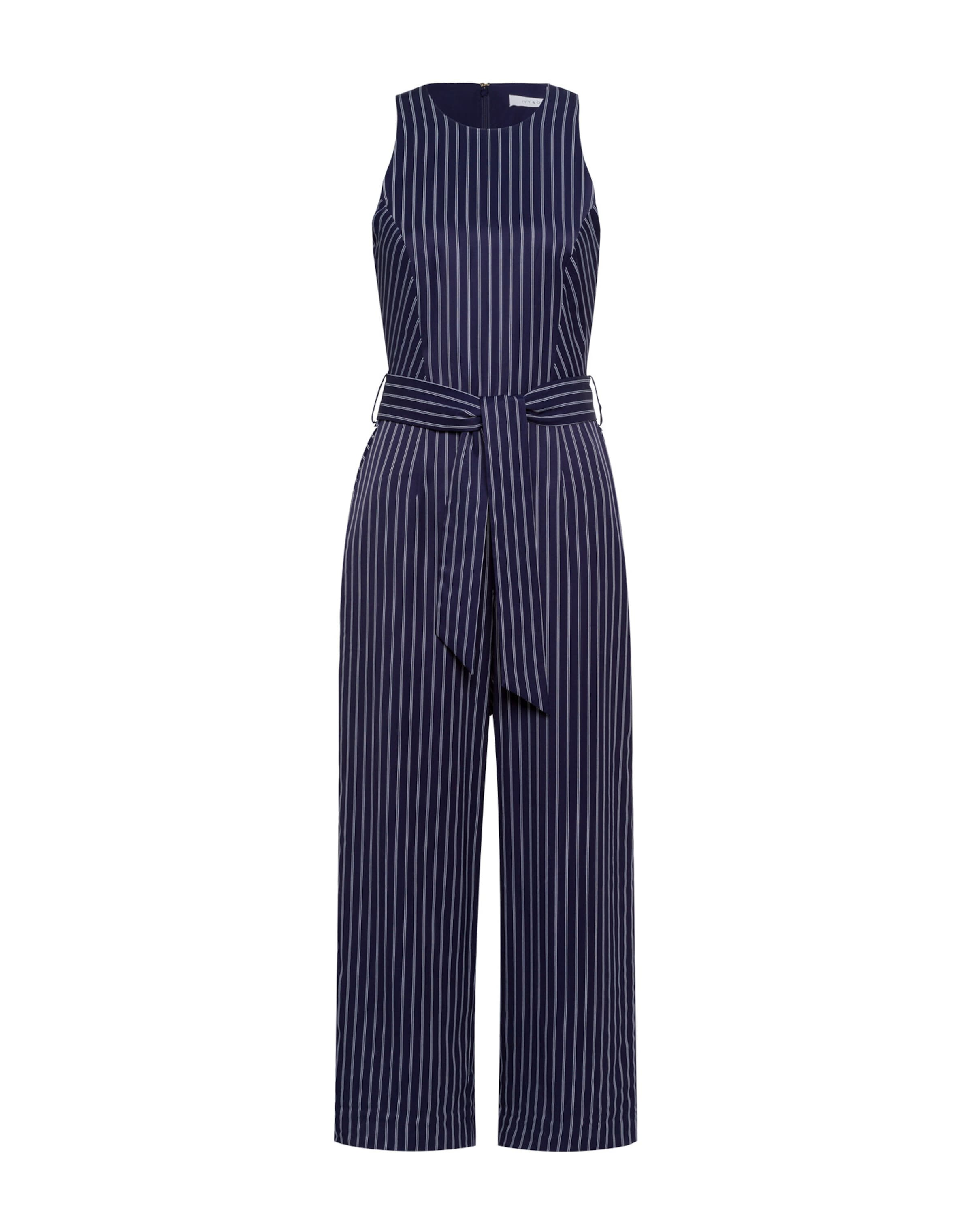 In 'pinstripes' NachtblauWeiß Oak Jumpsuit Ivyamp; CrdeWxBo