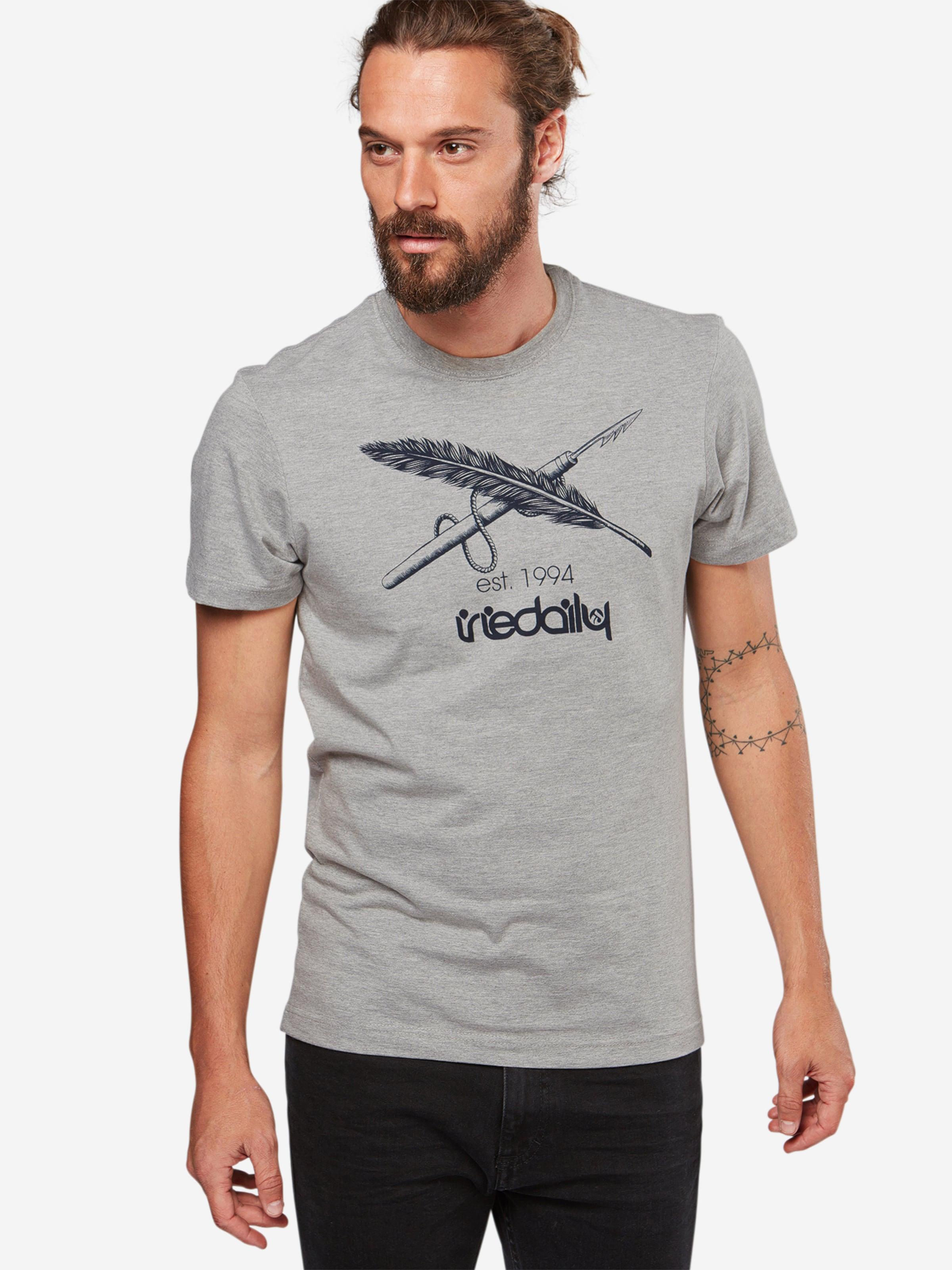 Chiné En Iriedaily T Gris shirt tCQxodBshr