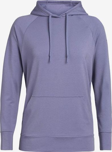 Icebreaker Sportsweatshirt in flieder, Produktansicht