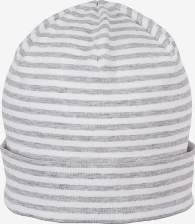 STERNTALER Beanie in graumeliert / weiß, Produktansicht
