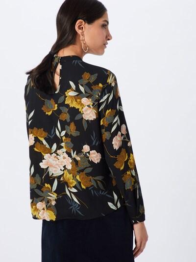 ONLY Bluse in mischfarben / schwarz: Rückansicht