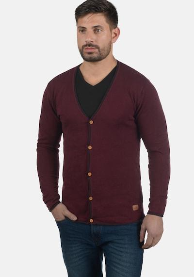 Redefined Rebel Cardigan 'Maxen' in rot / bordeaux, Produktansicht