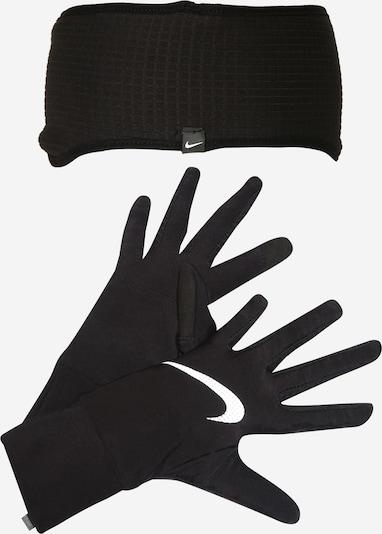 NIKE Accessoires Sport-Set in schwarz / weiß, Produktansicht