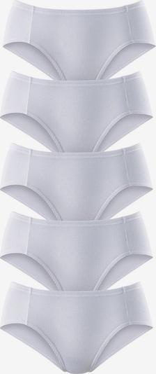 PETITE FLEUR Pikee-Jazzpants in weiß, Produktansicht