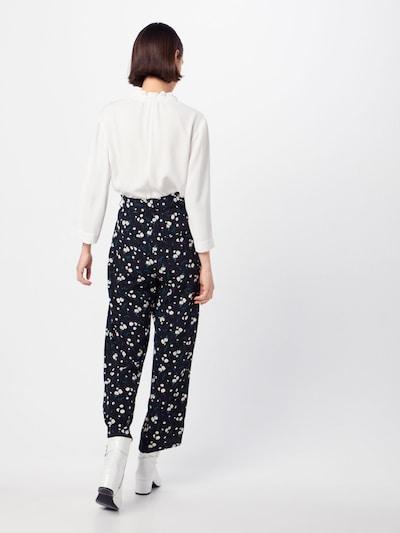 fekete mbym Élére vasalt nadrágok 'Amie': Hátulnézet