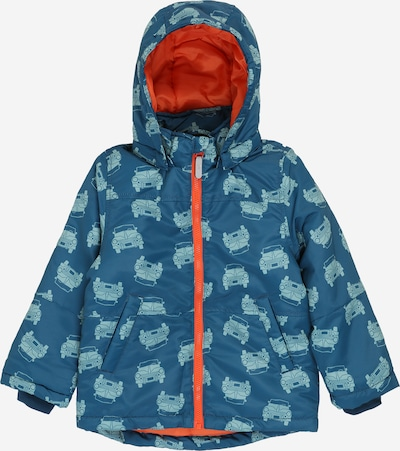 NAME IT Jacke 'MAX' in türkis / dunkelblau, Produktansicht
