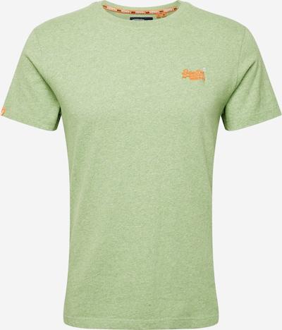 Superdry T-Shirt 'OL VINTAGE EMBROIDERY TEE' en vert clair, Vue avec produit