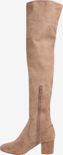 ABOUT YOU Stiefel 'Finya' in beige: Seitenansicht